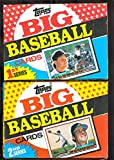 LOT OF TWO 1989 Topps Big Baseball Wax Pack Box Series 1 2 Set