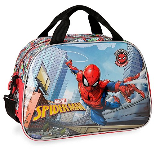 Marvel Grafiti Travel Duffle, 40 cm, 24.64 liters, Multicolour (Multicolor)