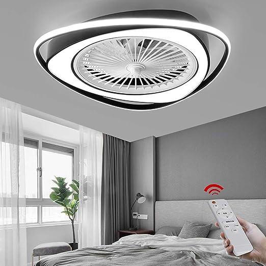 Ventilador De Techo LED Con Iluminación Lámpara De Techo De 38 W ...