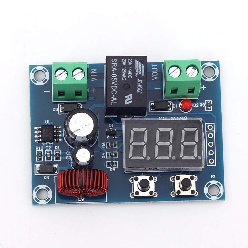 Icstation Digital Low Voltage Protector Disconnect Switch Over Discharge Protection Module for 12-34V Lead Acid Lithium Battery by IS (Image #6)