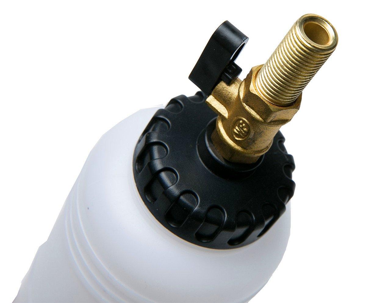FreeTec 1L Fluide Purgeur de Frein Outil air Pneumatique Voiture huile remplacement kit