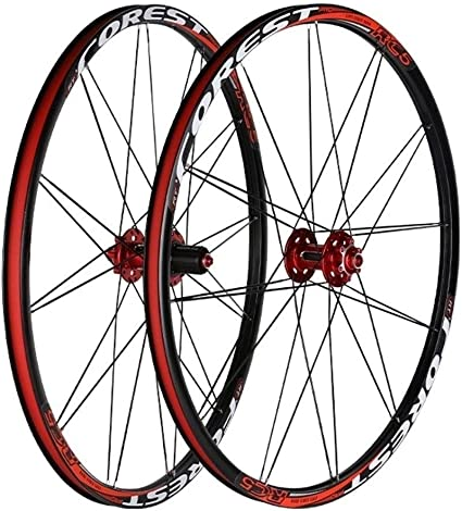 "NEW 26/"" Inch MTB Bike Wheelset Wheel Set Rims Disc Brake 8//9//10 Speed  W//QR 24H"