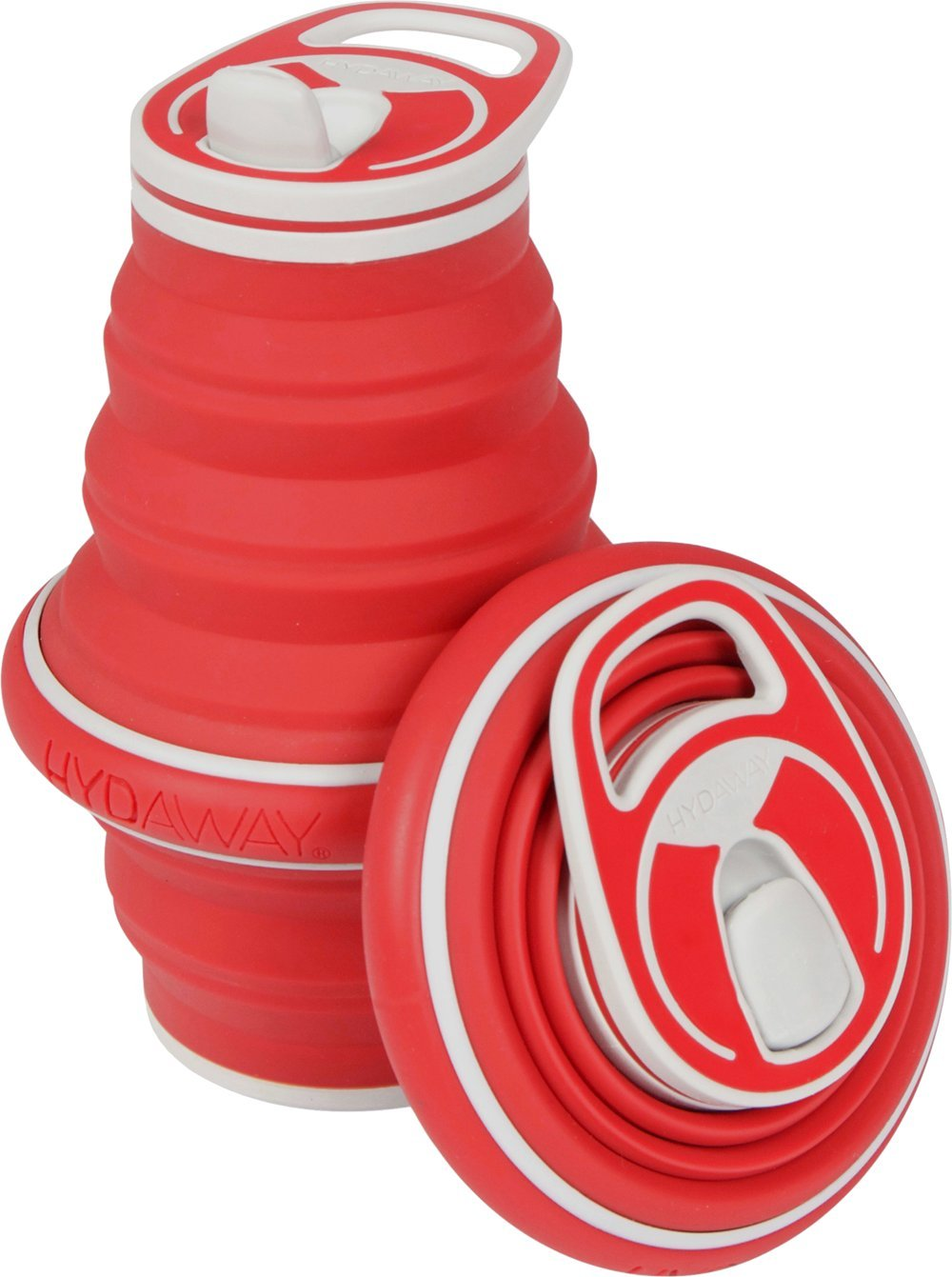 HYDAWAY New Collapsible Pocket-sized Travel Water Bottle - 21 oz.