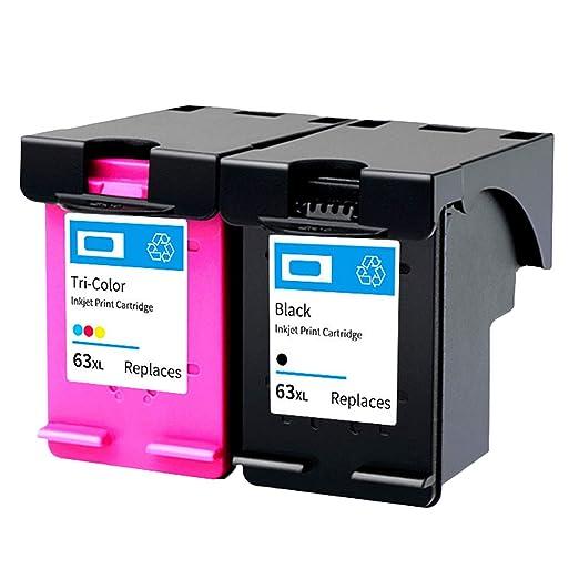 Siebwinn - Cartuchos de tinta (1 unidad), color negro y 1 cartucho ...