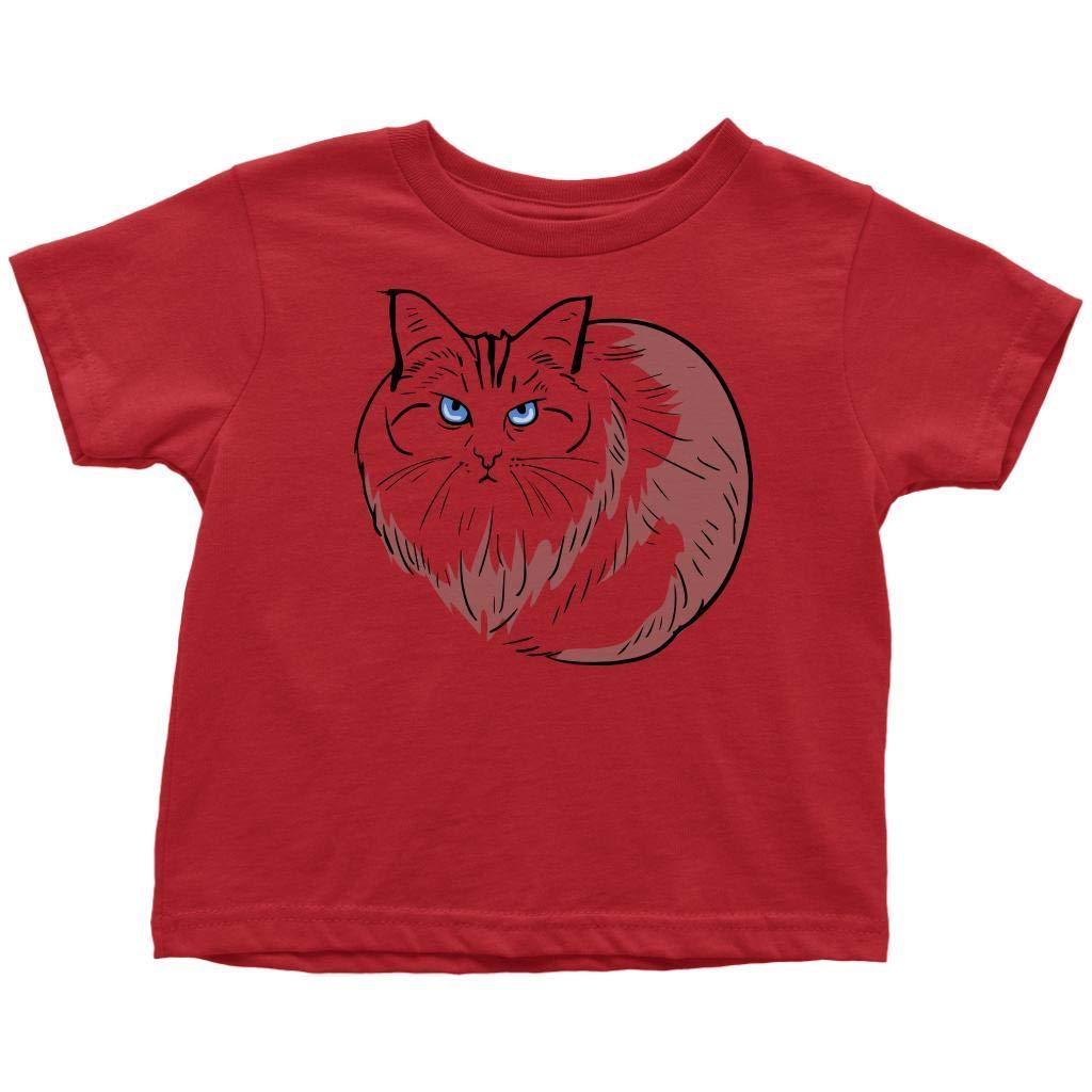 Birman Funny Cat Tshirt For Girls Cute Cat Gifts 9188