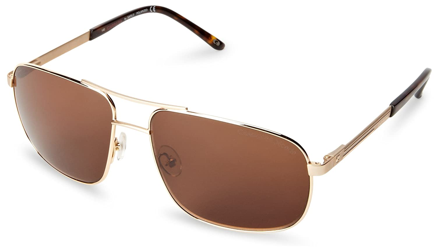 57c9dffab62a CARRERA XCEDE Sunglasses 7018/S J5GP Gold 59MM: Amazon.co.uk: Clothing