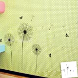 Butterfly Dandelion DIY Removable Art Vinyl Quote Wall Sticker Decal Mural Home Room D¨¦cor