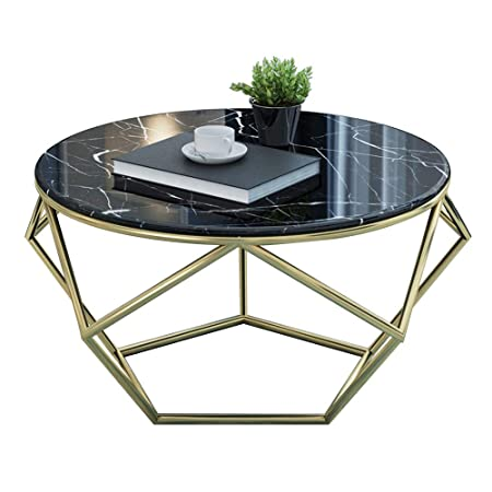 Table Ronde d'appoint en marbreTable Basse créativeSalon ALRj54