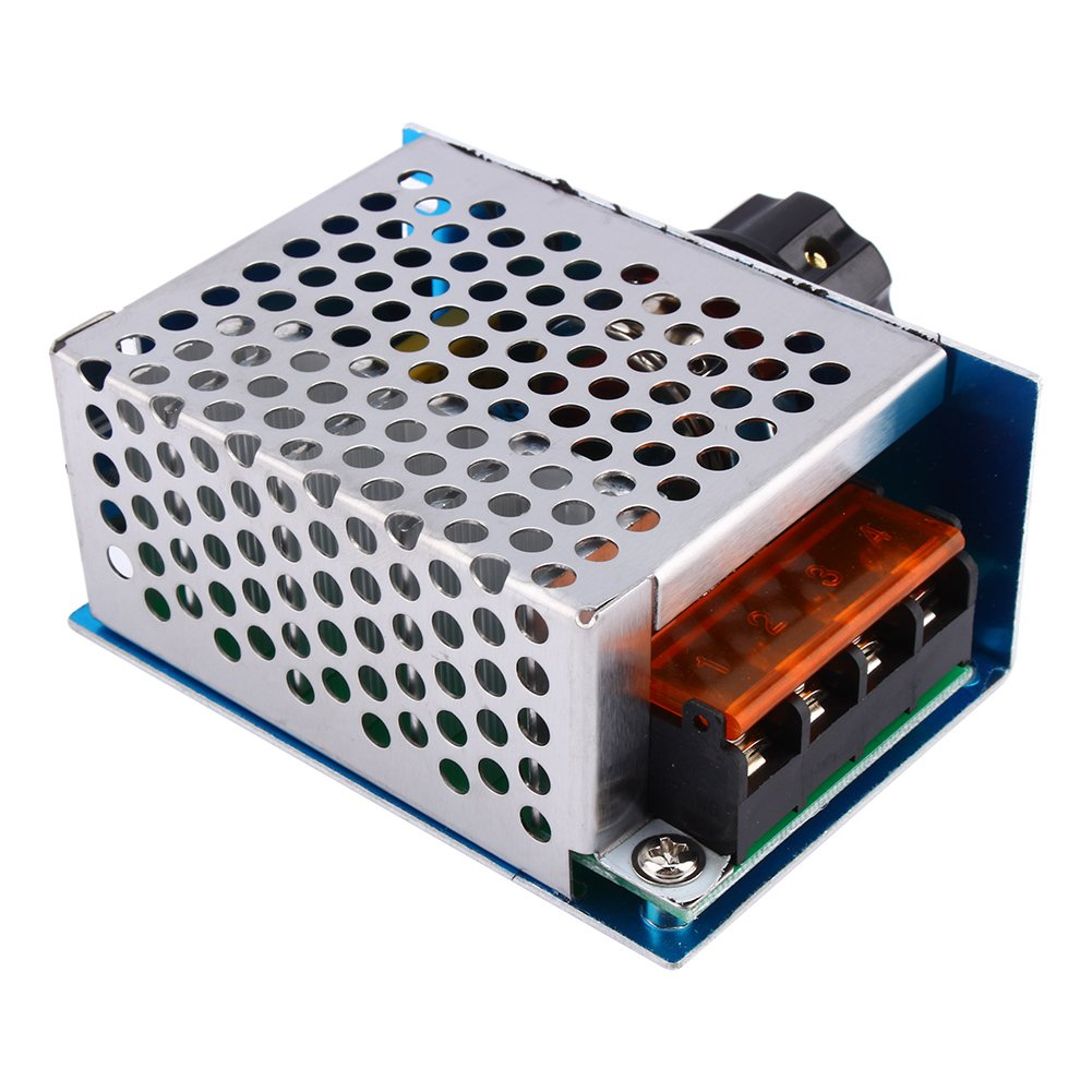 High Power 4000W 220V AC SCR Voltage Regulator Motor Speed Controller Electric Adjustable Speed Controller by Wal front (Image #4)