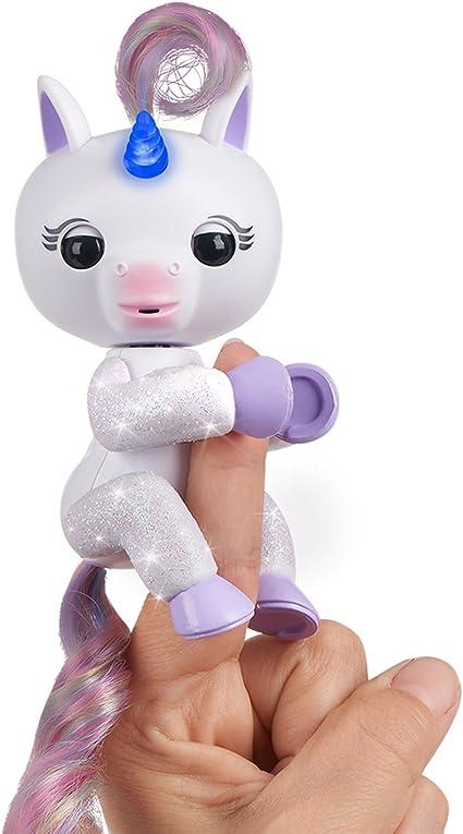 Wowwee Mackenzie Mascota Interactiva, Color Blanco con luz (3728)