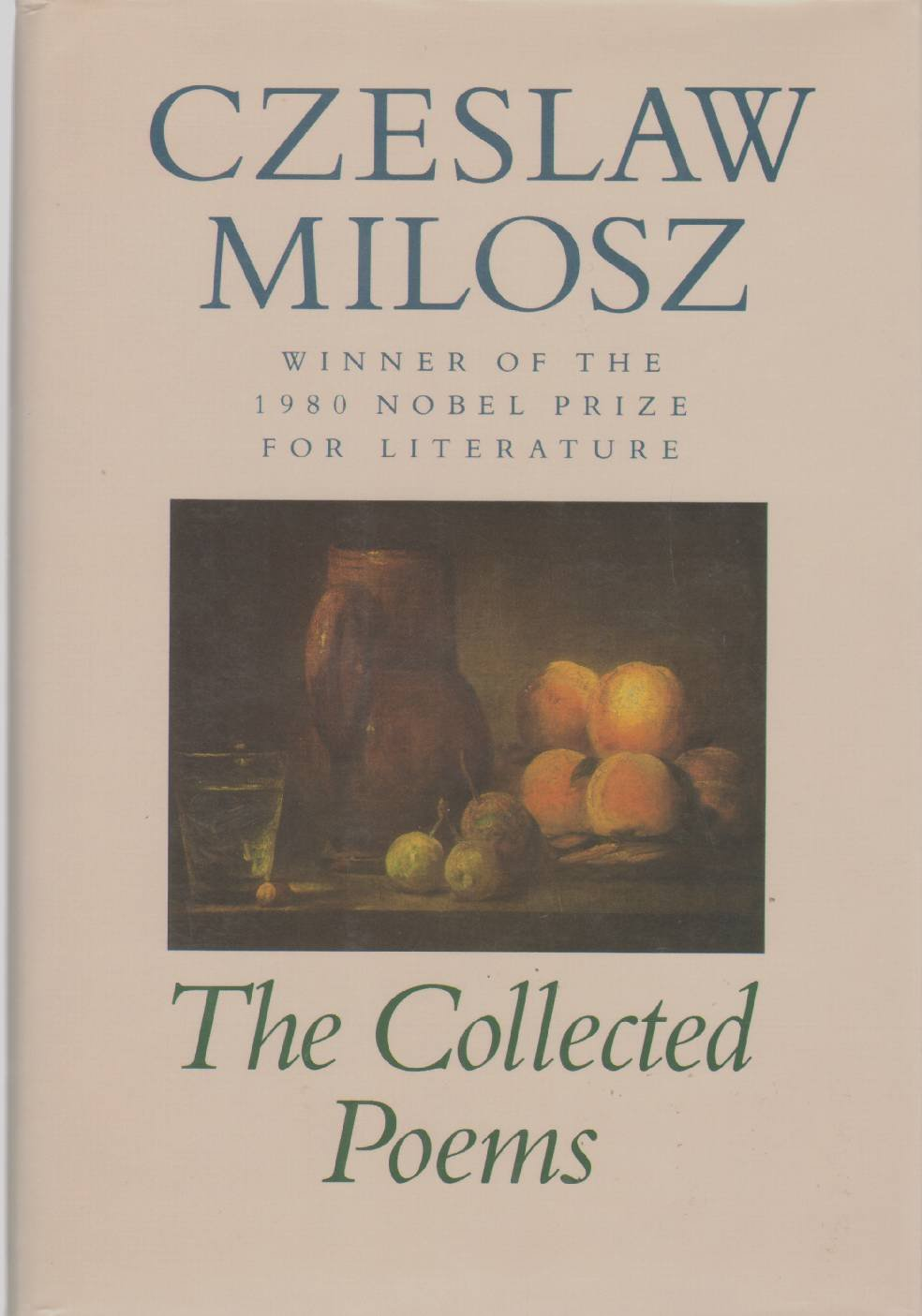 Amazon: The Collected Poems, 19311987 (9780880011730): Czeslaw Milosz:  Books