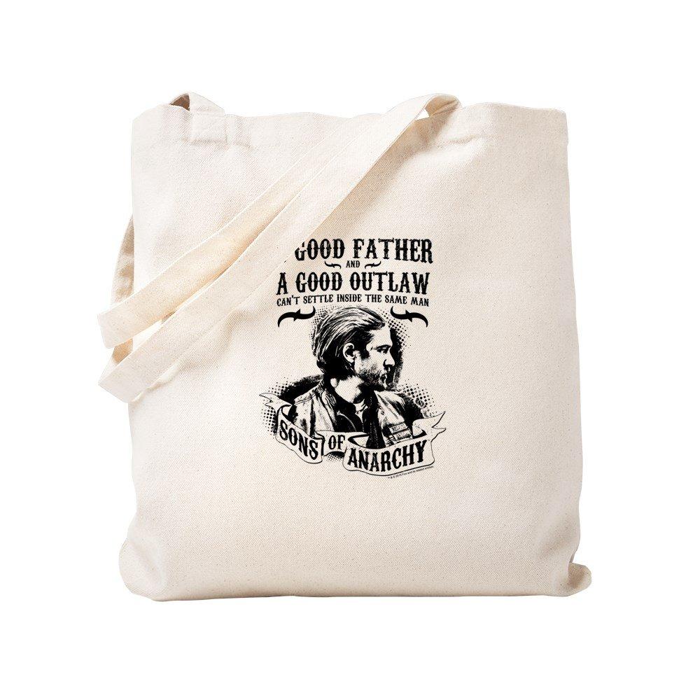 CafePress – Sons Of Anarchy Good Father – ナチュラルキャンバストートバッグ、布ショッピングバッグ S ベージュ 1590926516DECC2 B0773TD3KZ  S