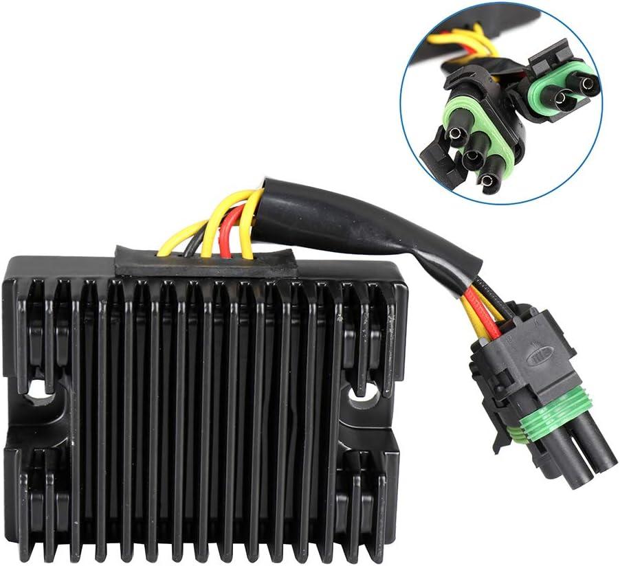 ECCPP Voltage Regulator Rectifier Fit for 1998-2003 Sea-Doo GTX 2002-2003 Sea-Doo LRV 2000-2003 Sea-Doo RX 2003-2004 Sea-Doo XP 278001241 278-001-554 Motorcycle Regulator Rectifier