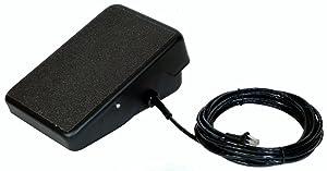 SSC Controls C810-0814 TIG Welding Foot Pedal, 8-Pin Plug, 14-ft Cable, Miller Welders, Replaces RFCS-RJ45 (300432), Diversion 165 & 180, Hobart EZ-TIG 165i, Amperage Control