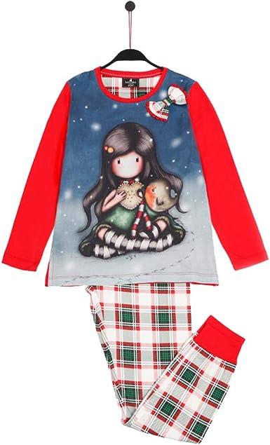 SANTORO Pijama Manga Larga My Christmas para Niña