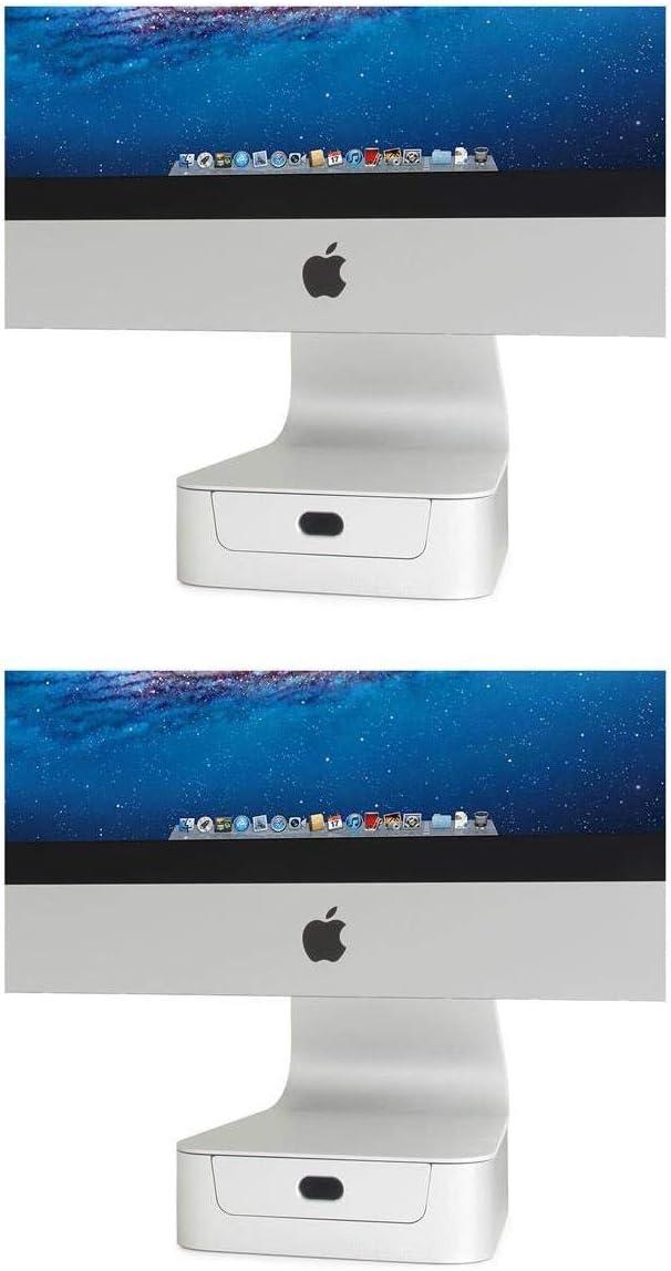 "Rain Design 2 Pack mBase Elevating Stand for 27"" iMac/Apple Thunderbolt Display - Stackable"