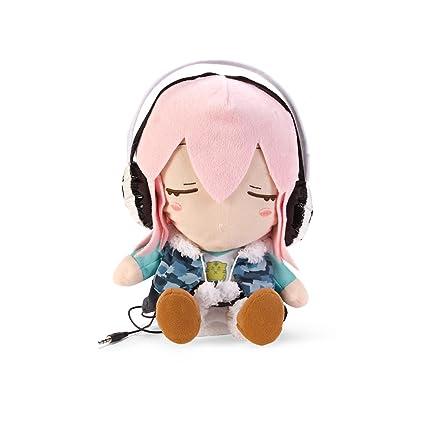 Amazon.com: Nitro Super Sonico Dancing peluche Sleeping Ver ...
