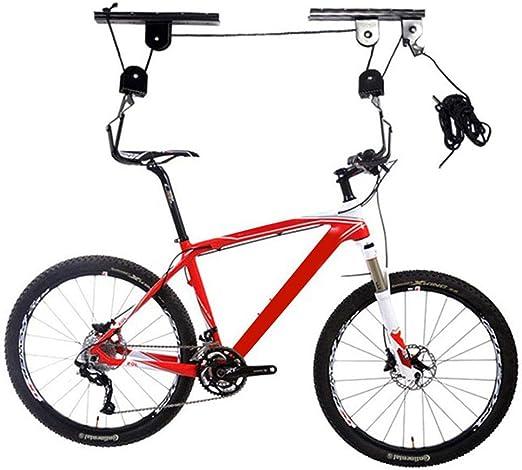 CARACHOME Poleas para Bicicleta, Levantador de Bicicletas, ssoporte Bicicletas Pared, Carga máxima 20 kg para Cada Soporte: Amazon.es: Hogar
