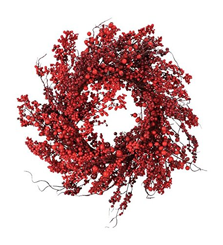 - Fantastic Craft Red Berry Wreath, 22-Inch