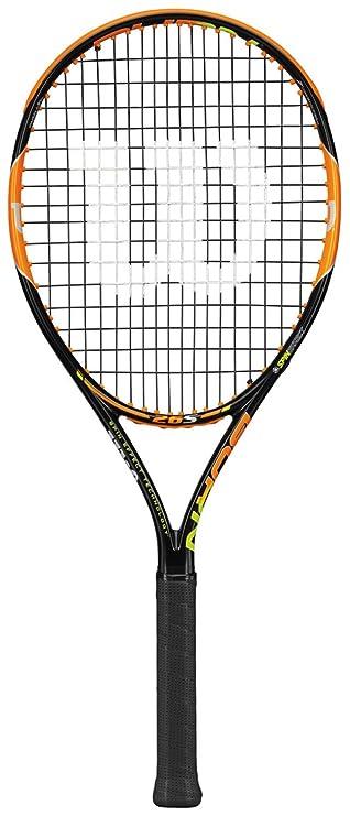 Wilson Burn Series Junior Tennis Racket Tennis Racquets at amazon