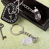 Choice Crystal Baby Bottle Design Key Chain In A Box , 144