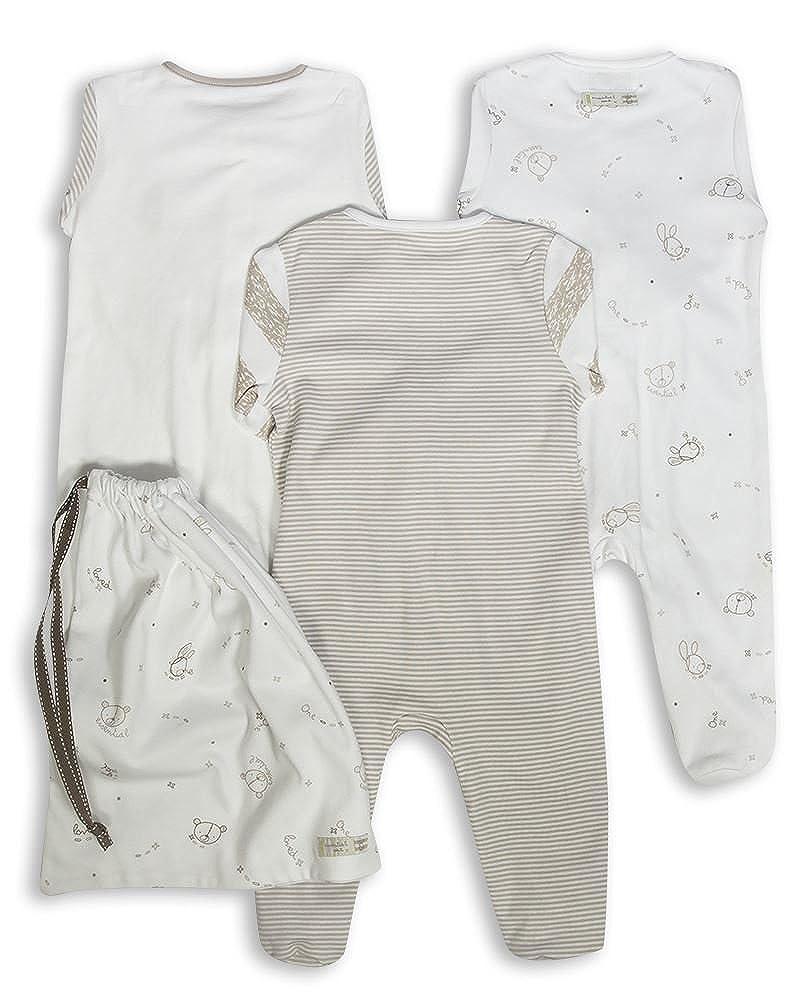 dd19dde94 The Essential One - Pijama para bebé - Paquete de 3-6-9 Meses ESS97:  Amazon.es: Ropa y accesorios