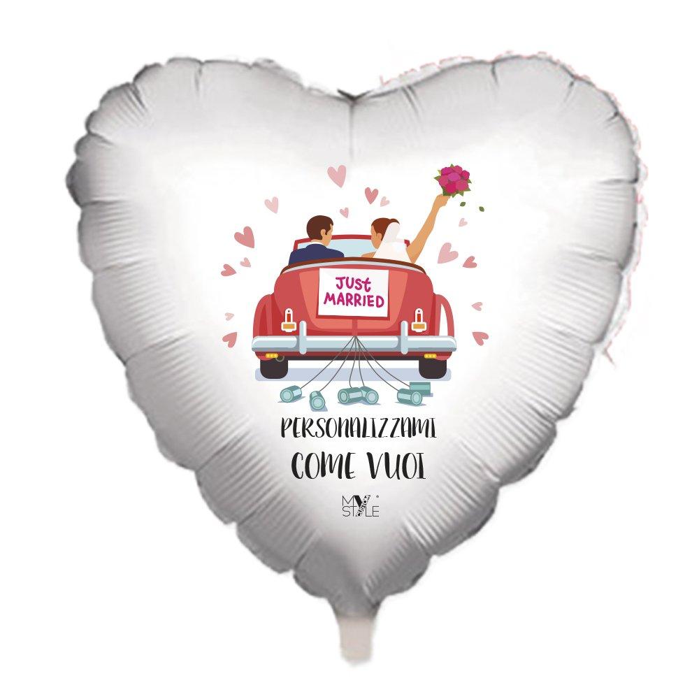 My Custom Style Hochzeitsaccessoires 5 Palloni Medi AD Elio Personalizzabili