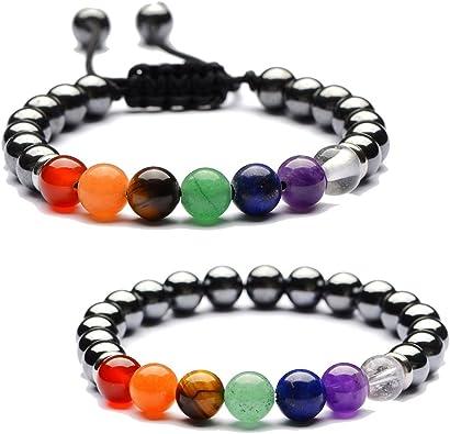 Chakra Jewelry Gemstone Bracelet Howlite Bracelet Howlite Jewelry Crystal Healing Jewelry Gift for her