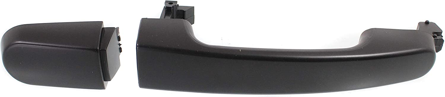 Door Handle Outside Textured Black Front Left LH for Taurus X Freestyle Montego