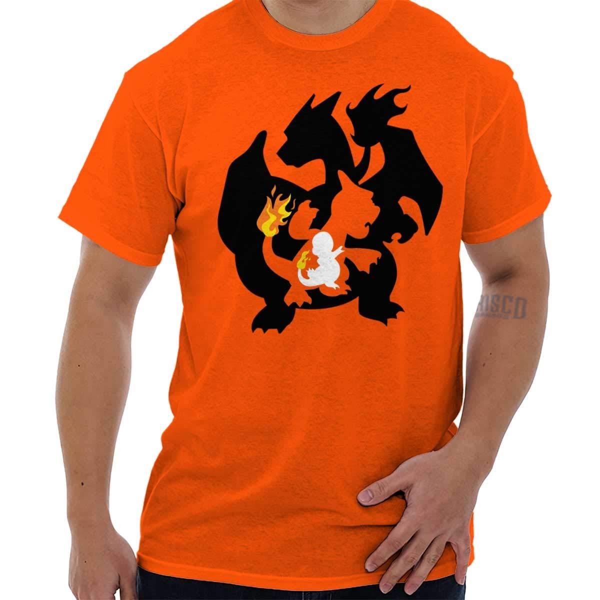 Brisco Brands Poke Go Evolution Gamer Nerd Cool Workout T Shirt Tee