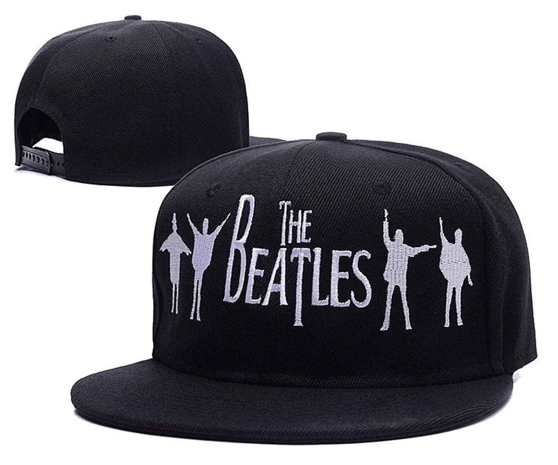 DEBANG The Beatles Rock Band Logo Adjustable Snapback Embroidery Leisure Hat Baseball Mesh Cap Beanie Visor