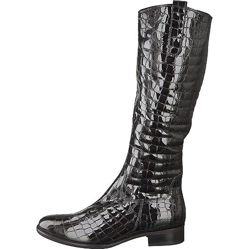 7b5f71cba1a Gabor Brook S 71.648.97 Black Patent Croc Boot 4: Amazon.co.uk ...