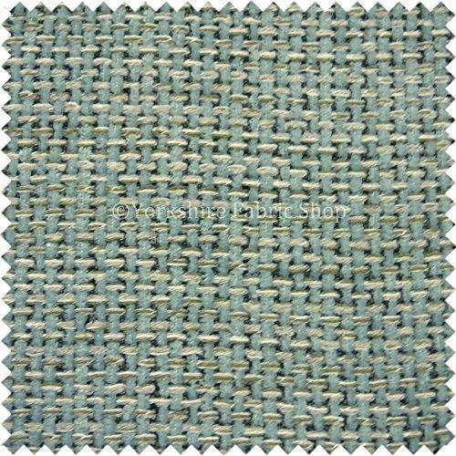 Nouvelle Qualité durable texturé Bleu sarcelle Couleur tissé Hopsack doux Tissu d'ameublement d'ameublement Yorkshire Fabric Shop