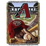 "The Northwest Company MLB Arizona Diamondbacks Home Field Advantage Woven Tapestry Throw, 48"" x 60"""
