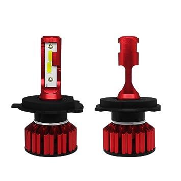 Bombillas LED Para Faros De Coche Kit Más Nuevo 6000K, 6000LM, 50W, Luz