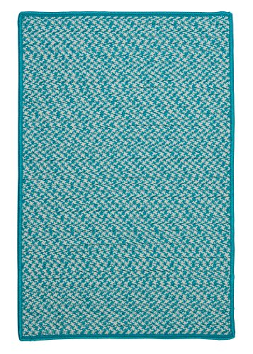 Outdoor Houndstooth Tweed Sample Swatch Rug, 14
