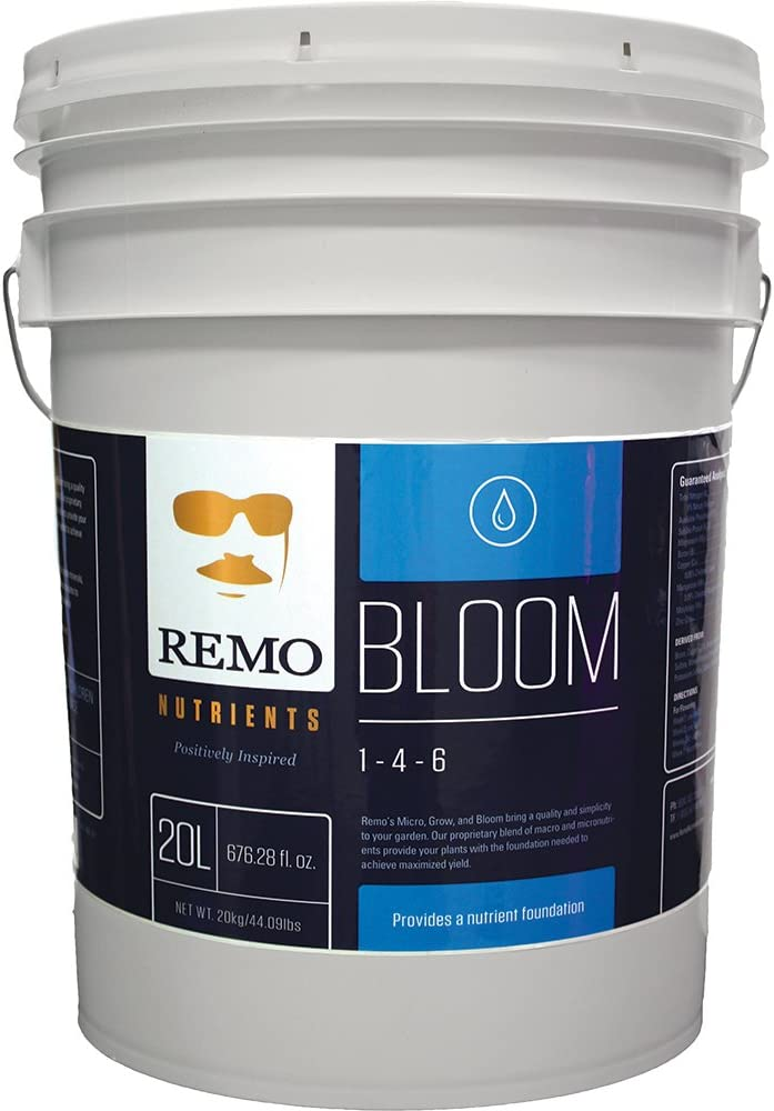 Remo Nutrients RN71140 Remo s Bloom 20L Nutrient, White
