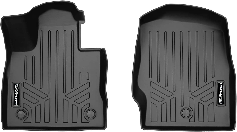 SMARTLINER Custom Fit Floor Mats 1st Row Liner Set Black for 2018-2019 Buick Enclave All Models