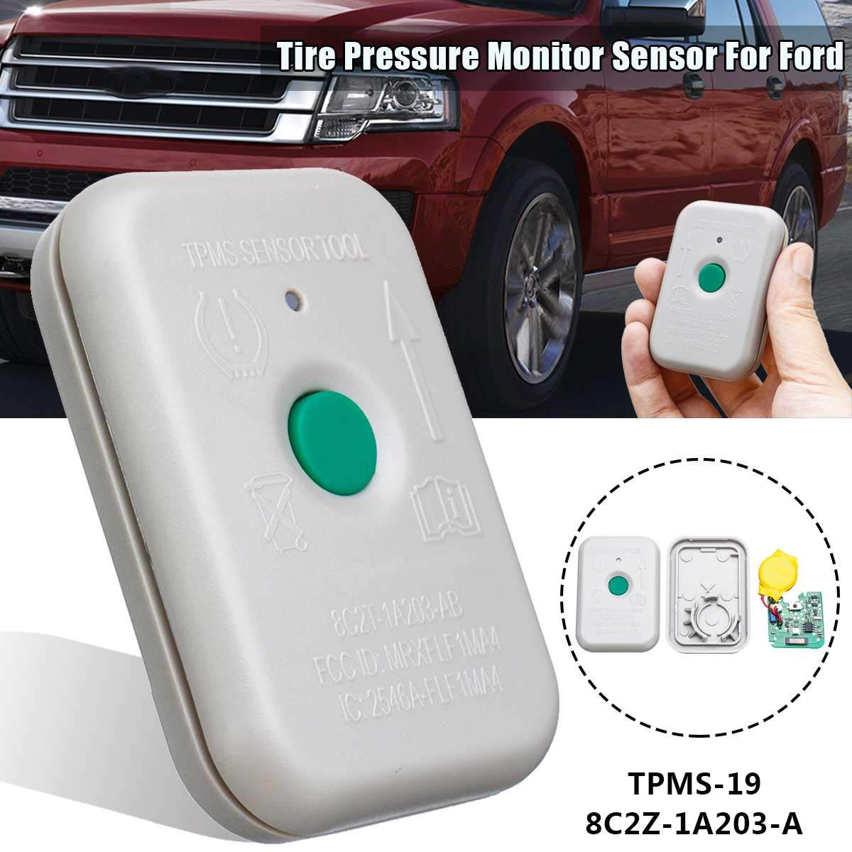 Tire Presure Monitor Sensor Activation Tool for Ford 8C2Z-1A203-A TPMS-19 TPMS19 8C2T1A203AB TPMS Sensor