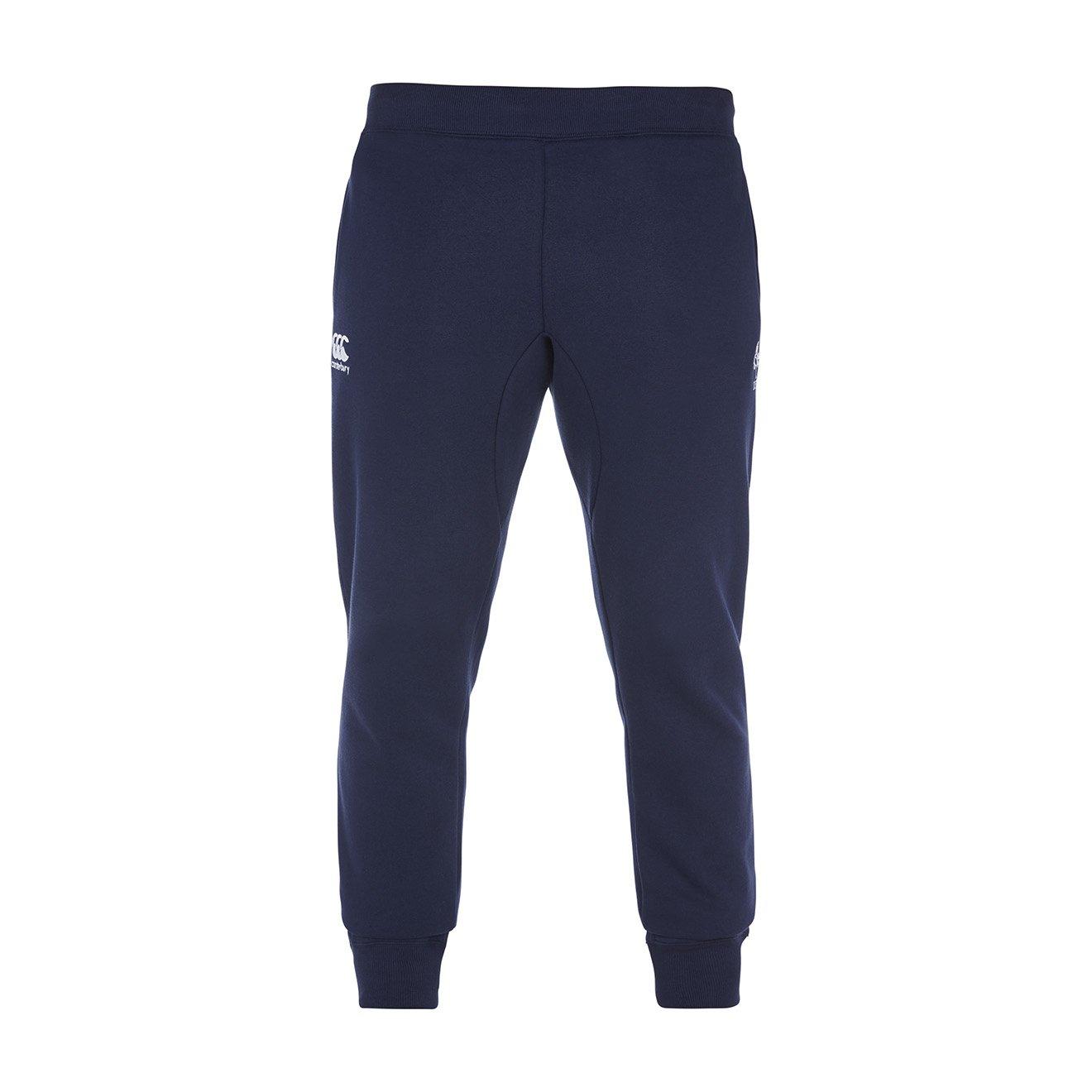 Canterbury Of New Zealand Men's Ireland Cuffed Tapered Fleece Pant-Peacoat Blue, Small