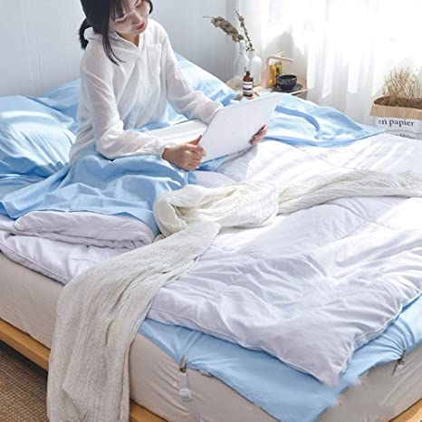 YUEBAOBEI Saco De Dormir Liner, Durable/Super Suave/Almohada ...