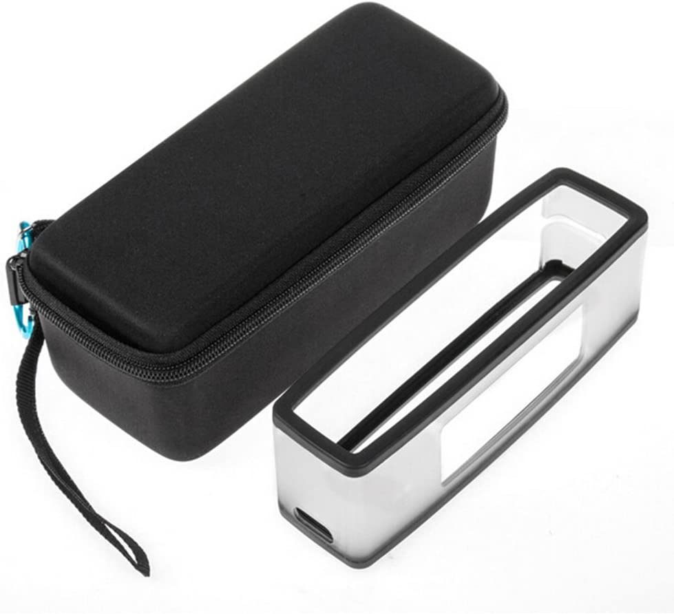 szdc88 Mini Carry Hard Case Soft Cover Hard Travel-Tragetasche Kompatibel mit Soft Cover f/ür Bose Soundlink Mini//Mini 2 Bluetooth-Lautsprecher