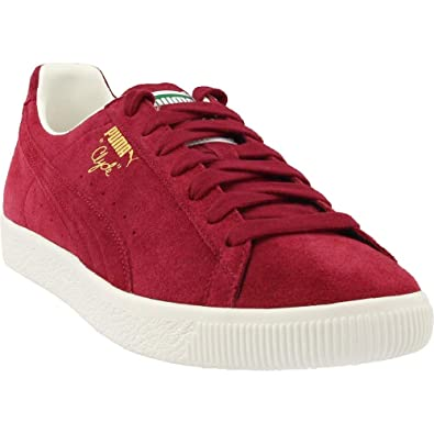quality design 9b9ba 51ad7 Puma Men's Clyde from The Archive Red Dahlia 11 D US: Amazon ...