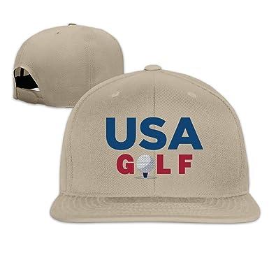 Estados Unidos Golf Río equipo ajustable Gorra Visera Plana Gorras ...