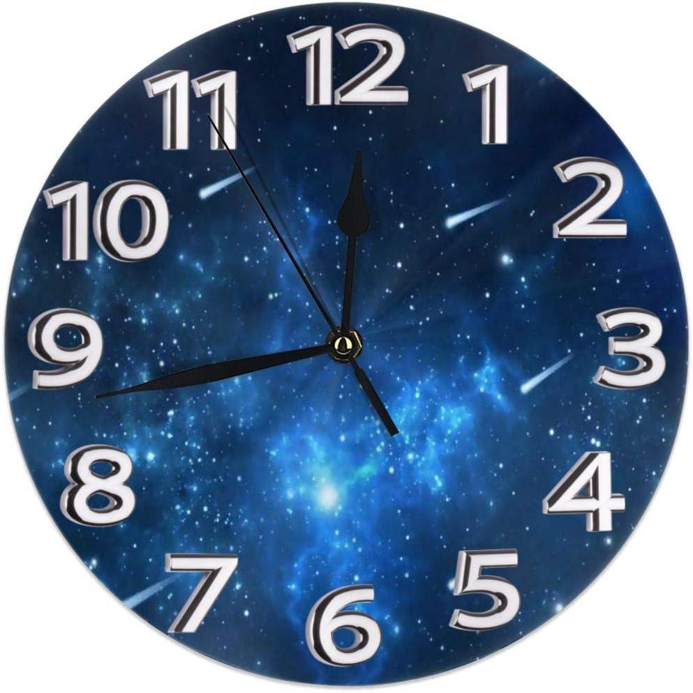 Reloj de pared redondo estante reloj de dibujo animado ...