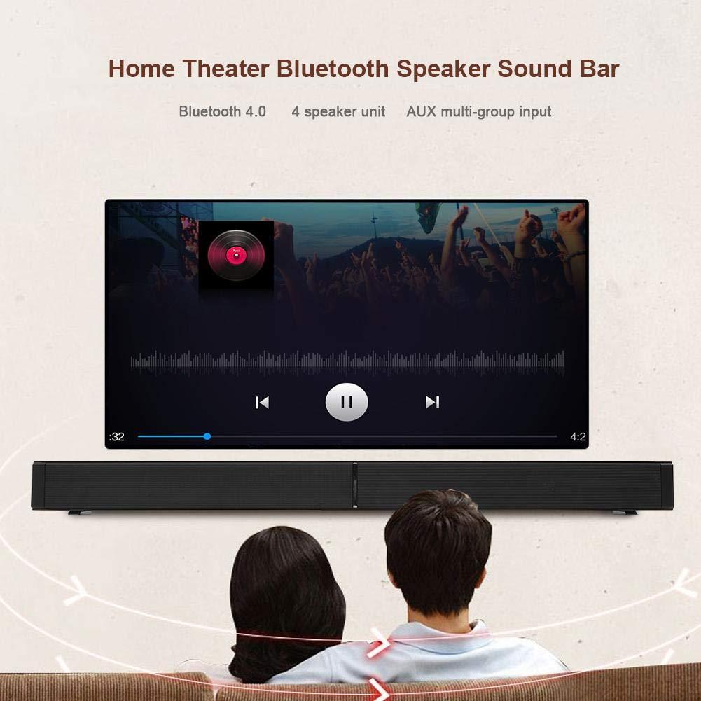 BTIHCEUOT Inicio Altavoz Teatro Est/éreo Surround USB Barra de Sonido SoundBox 100-240V para PC Enchufe de la UE TV y Varios Dispositivos