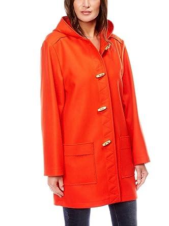 d40dfd90ec Dalmard Marine - Caban Marin Laine Made in France Couleur - Orange, Taille  Femme -