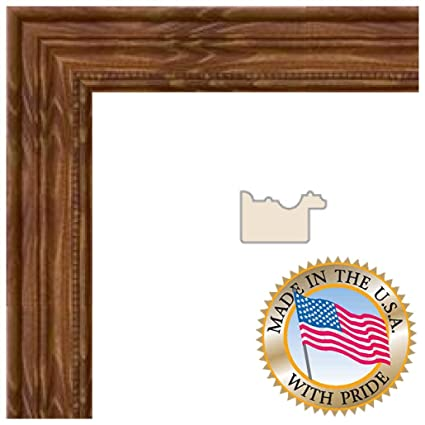 Amazon.com - ArtToFrames 10x26 / 10 x 26 Picture Frame Honey stain ...