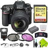 Nikon D7500 DSLR Camera with Nikon 18-140mm Lens Advanced Bundle