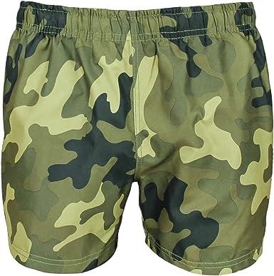 Asso Riccio dovere  Evoga Costume da Bagno Uomo Militare Mimetico Camouflage Pantaloncino  Shorts Bermuda Mare: Amazon.it: Abbigliamento